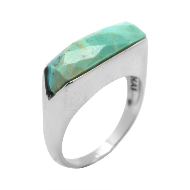 SLICE Turquoise Ring
