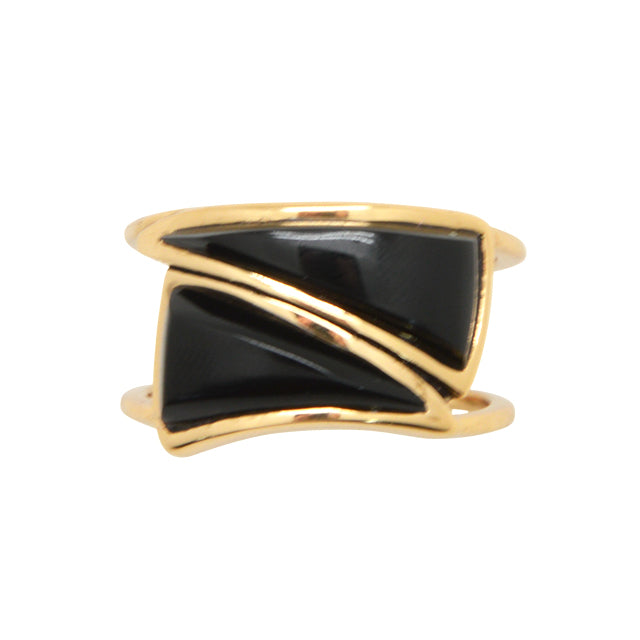 Featherweight Onyx Ring