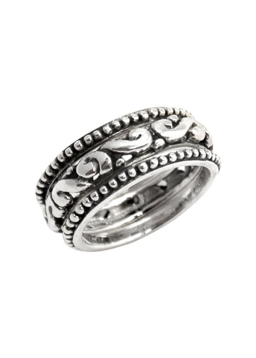 Classic Barse Scroll Ring
