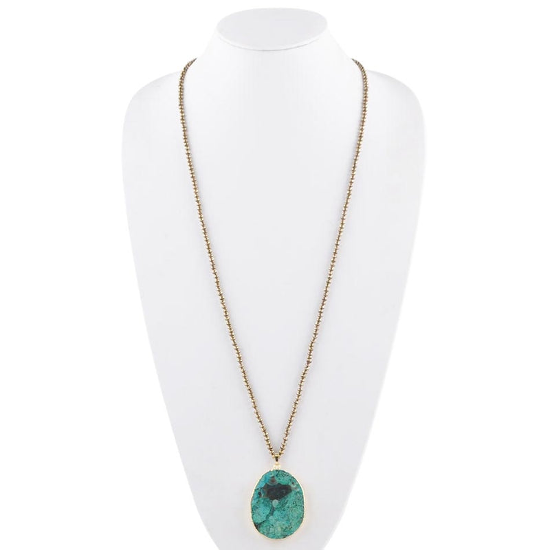 The Perfect Pair Jasper Necklace
