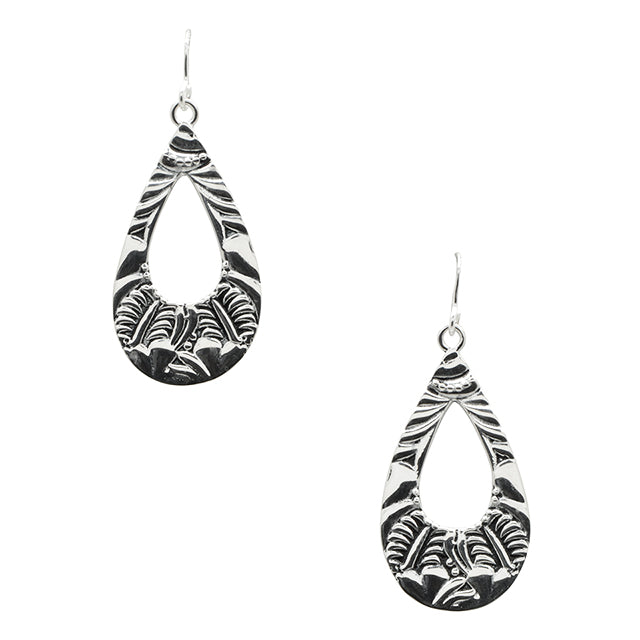 Embraceable Embossed Earring