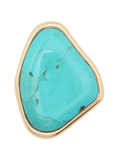 Cool Blue Pool Turquoise Ring