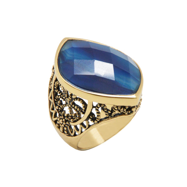 Arc de Triomphe Agate Ring