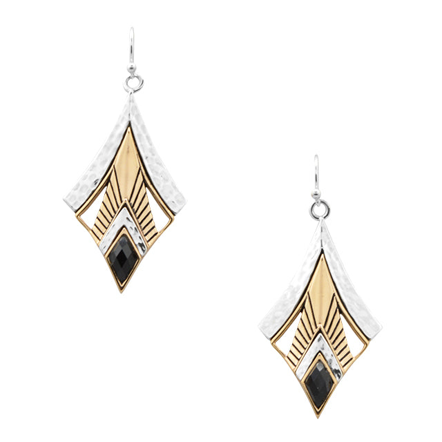 Intrepid Onyx Earring