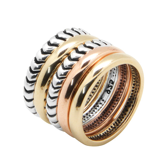 Fifth Dimension Stackable Ring