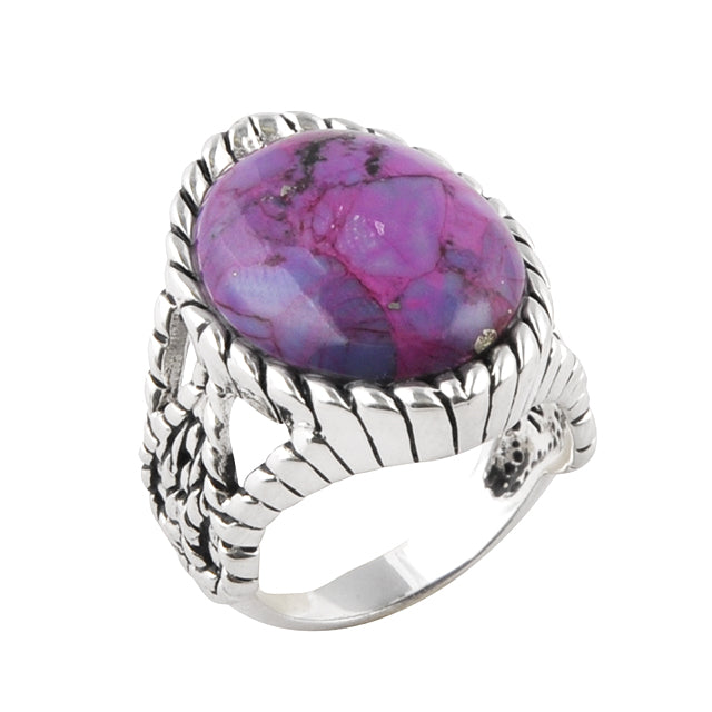 Purple Reign Turquoise Ring