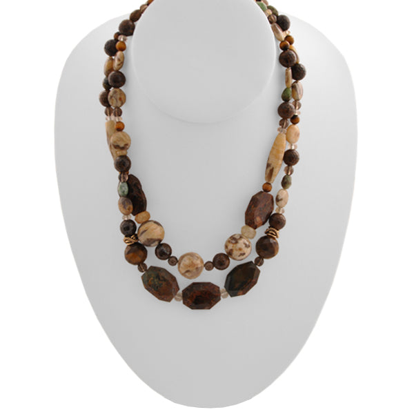 Organic Double Strand Necklace