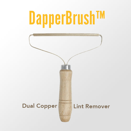 DapperBrush™️ - Luxury Lint Remover