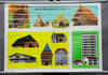 ways of living life rollable wall chart history living cave skyscraper tent