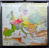vintage pull down map Migration Period Europe
