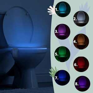 toilet light 8 colors - Illumi Tushy