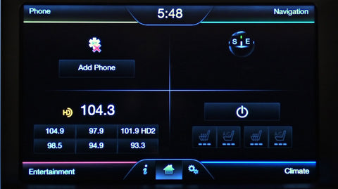 Ford MyFord with Touch Sync 2 APIM Navigation Upgrade Programming Service (After)