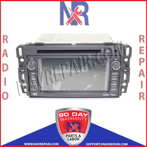 2008 2009 GM Buick Chevrolet Delphi Navigation Radio Repair Service