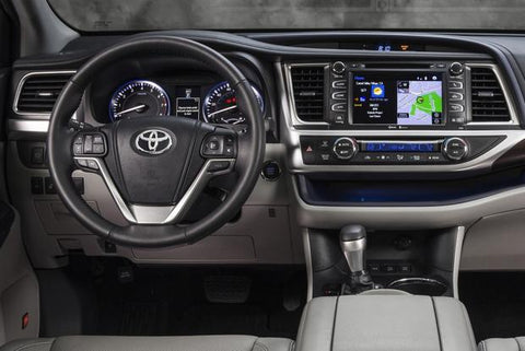 2014 2015 2016 Toyota Highlander Navigation Radio Repair Service