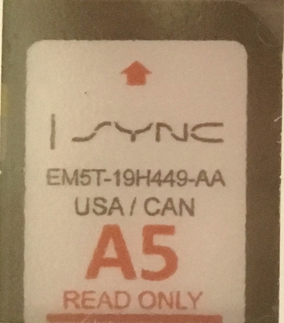 MyFord Sync2 SD Card - NavRepair.com - 1