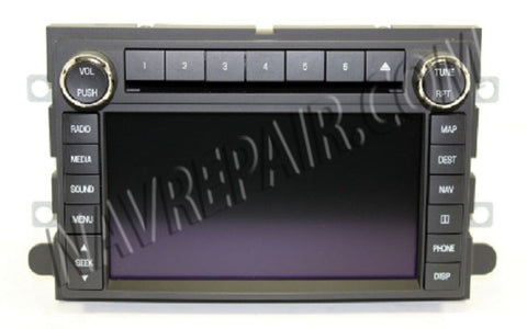 Ford Lincoln Mercury Clarion with Sync Navigation Radio Repair Service - NavRepair.com - 1