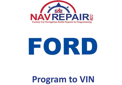 Ford Lincoln Mercury Factory Navigation Radio Programming Service - NavRepair.com - 1