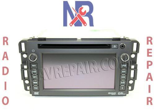 GM Radio Repair Services – NavRepair com