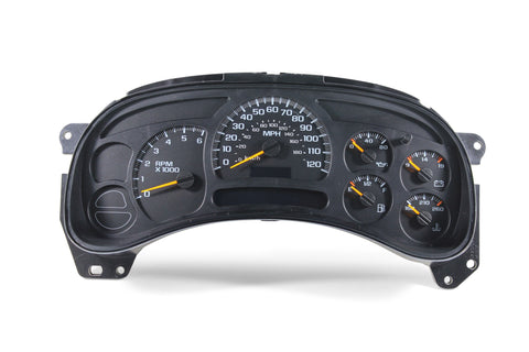 2003-2005 GM Chevrolet GMC Truck OEM Replacement Speedometer Instrument Panel Cluster Service