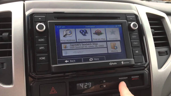Toyota Sequoia Navigation Radio Screen Repair Service 2010 2011 2012 2013 2014