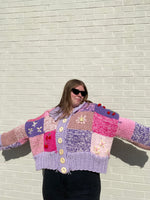 PATCHWORK CARDIGAN PATTERN