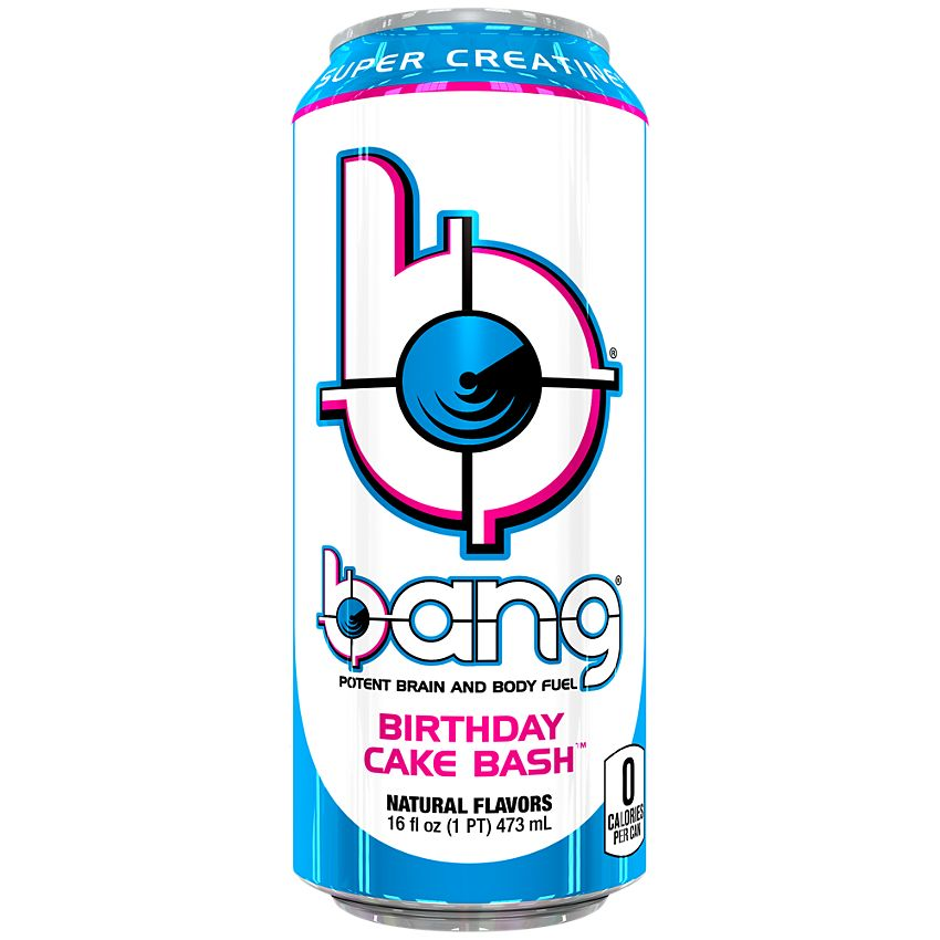 BANG ENERGY Birthday Cake Bash - 473ml
