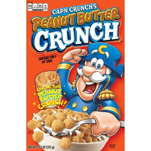 CAP'N CRUNCH Peanut Butter Cereal - 350g