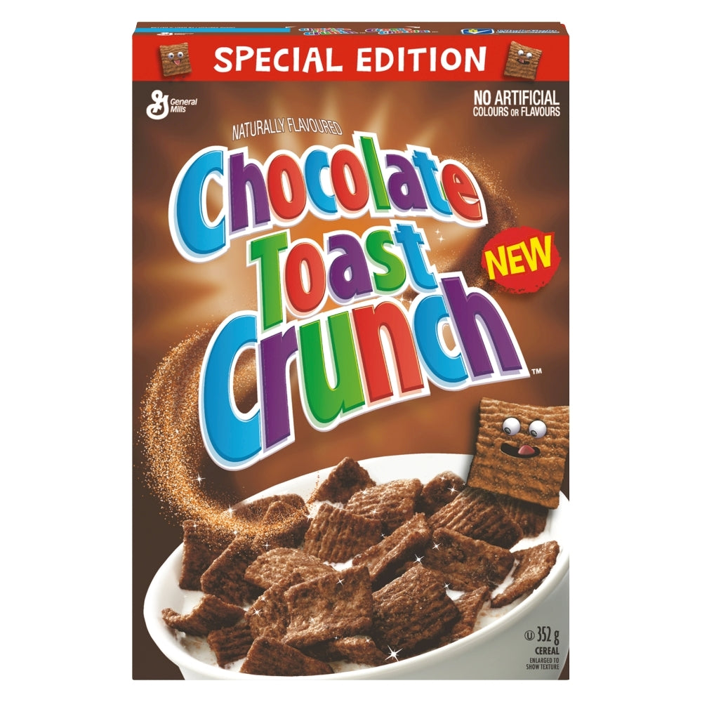 CHOCOLATE TOAST CRUNCH Cereal - 351g