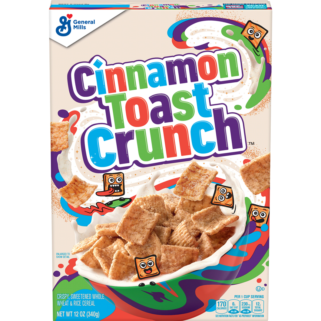 CINNAMON TOAST CRUNCH Original Cereal - 340g