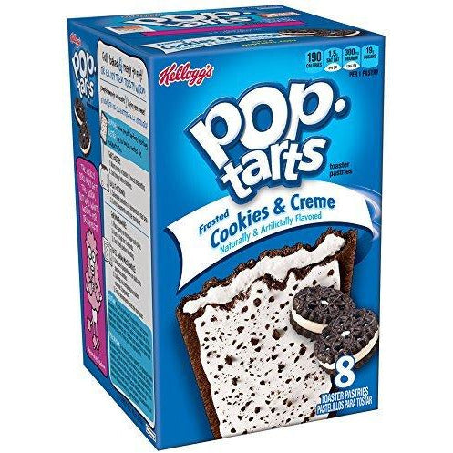 POP TARTS Cookies & Creme - 8 Pack