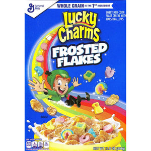 LUCKY CHARMS Frosted Flakes w/ Marshmallows Cereal - 385g