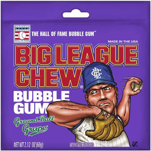 BIG LEAGUE CHEW Ground Ball Grape - 60g