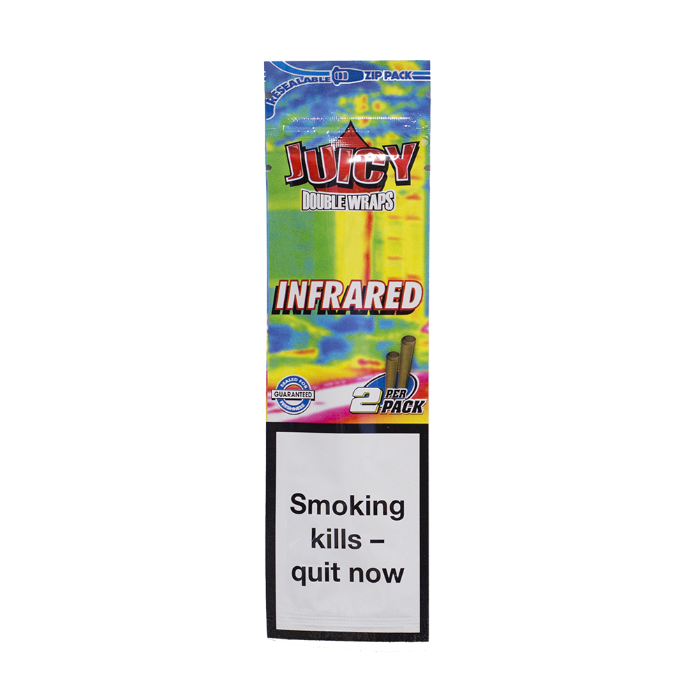 JUICY JAY'S Infrared Hemp Wraps - 2 Pack