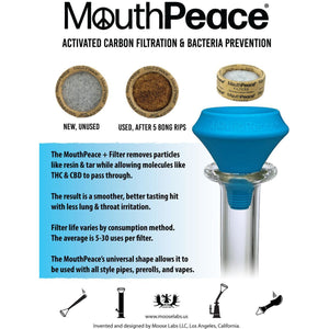 MOOSE LABS MouthPeace Replacement Filters - 10 Pack