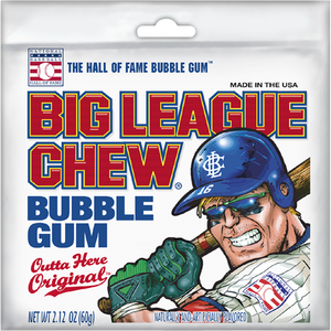 BIG LEAGUE CHEW Outta Here Original - 60g