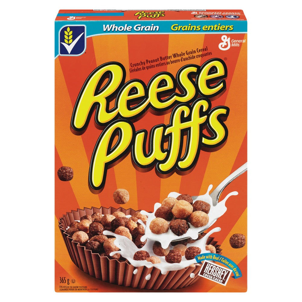 REESE'S PUFFS Peanut Butter Cereal - 326g