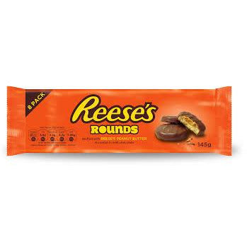 REESE'S Peanut Butter Rounds - 128g