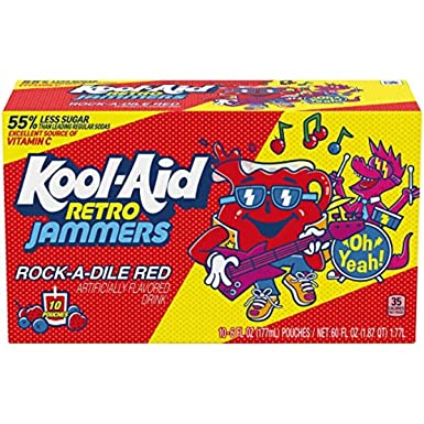 KOOL AID Rock-A-Dile Red Jammers - 10 Pack