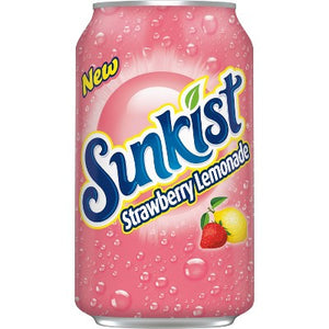 SUNKIST Strawberry Lemonade - 355ml