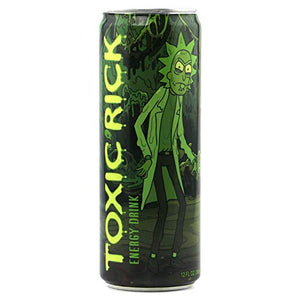 RICK AND MORTY Toxic Rick Energy - 355ml