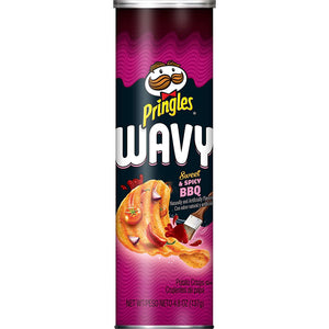 PRINGLES USA Sweet & Spicy BBQ - 137g
