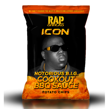 RAP SNACKS Notorious B.I.G Cookout BBQ Sauce - 78g