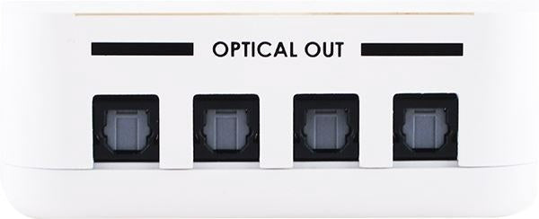 1 x 4 Optical Audio Splitter