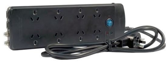 JACKSON 8-Way Protected Power Board With Telephone And TV Line