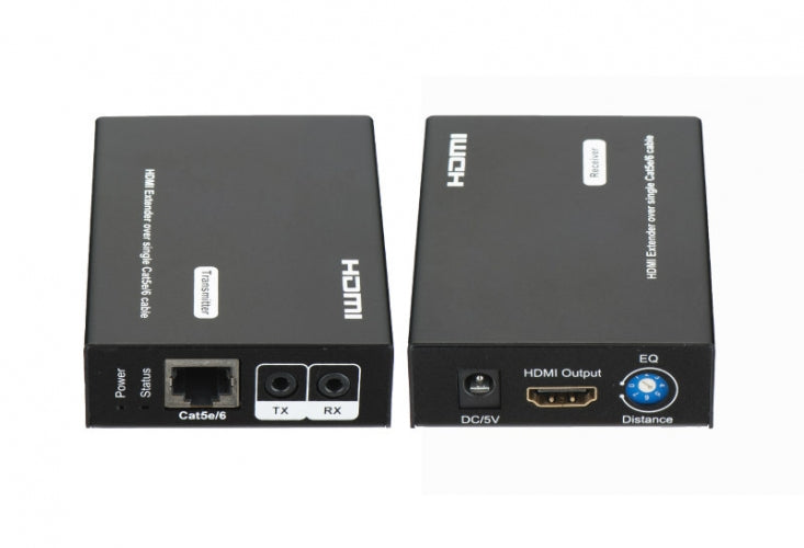 HDMI Single Cat5e/6 Extender up to 50 meters with Bi-Directional IR and 3D Support