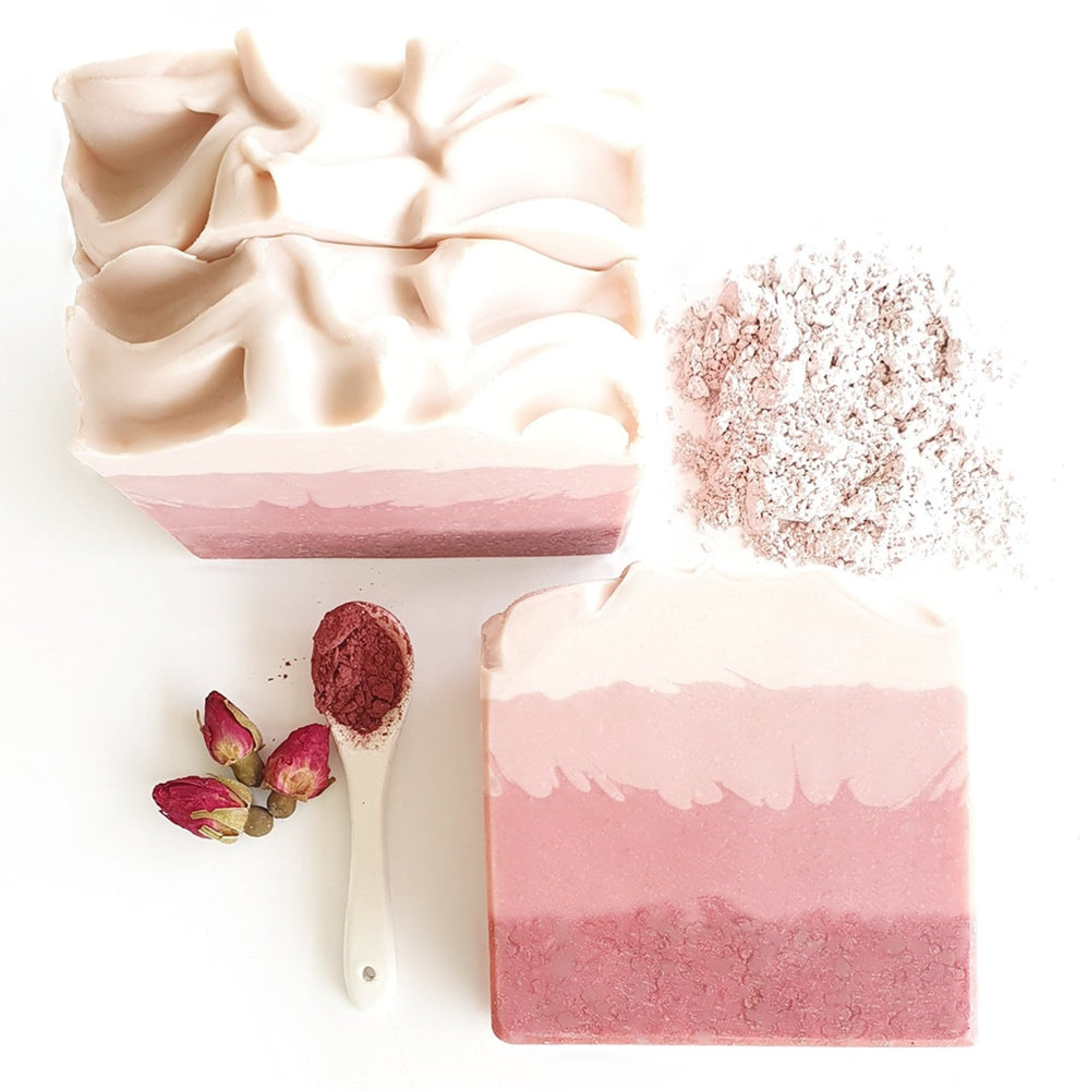 Australian Pink Clay, Hibiscus & Rose Soap