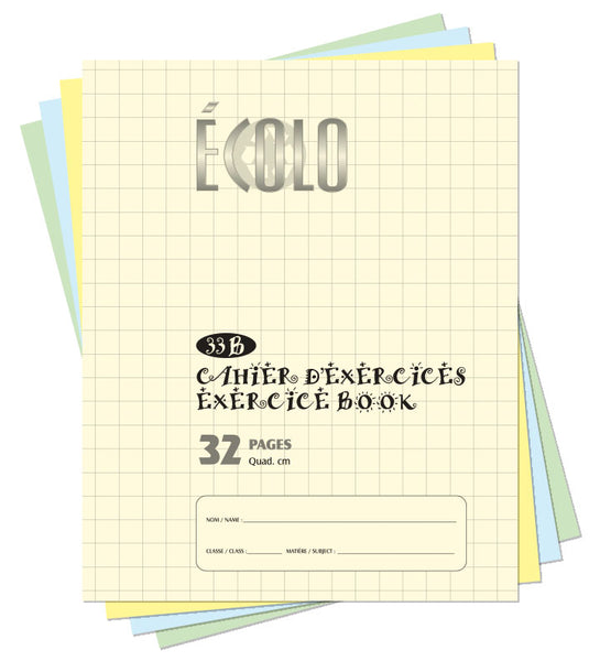 Small quad notebook Écolo # 33B
