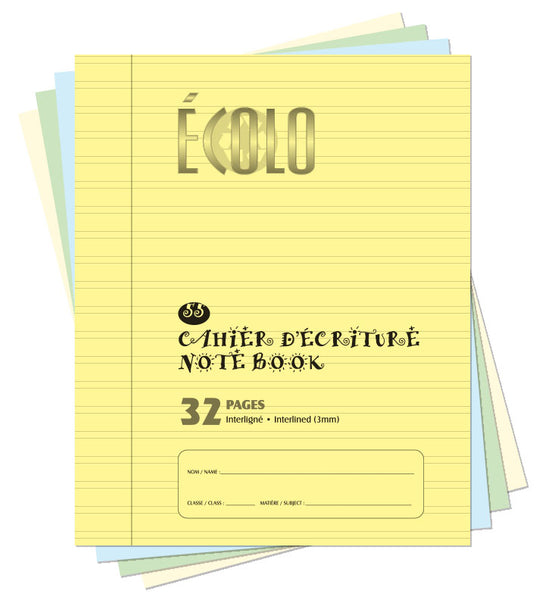 Small interlined notebook Écolo # 55
