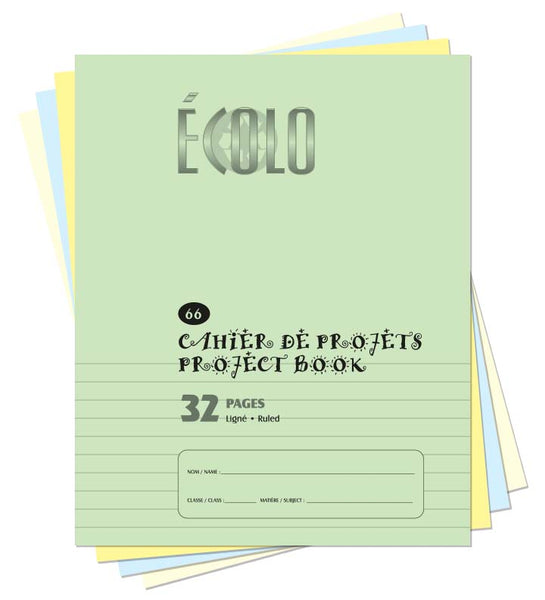 Small project notebook Écolo # 66