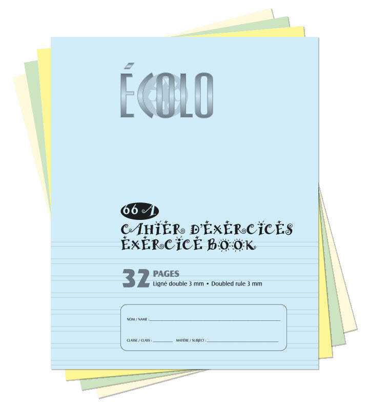 Small project notebook Écolo # 66A
